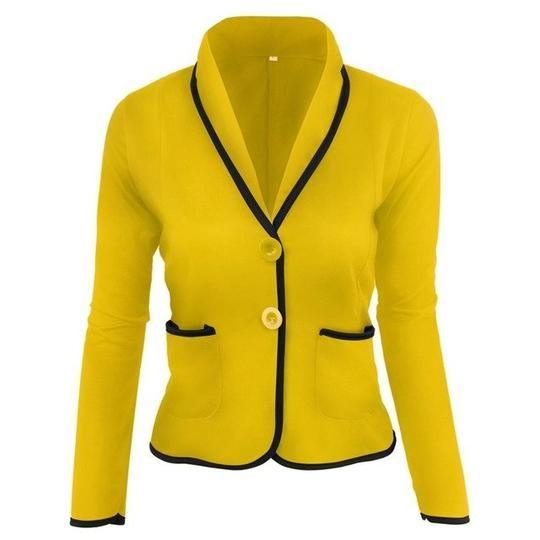2018 New jacket women plus size veste femme Full Cotton office wear blaser feminino abrigos mujer fashion long blazer 15