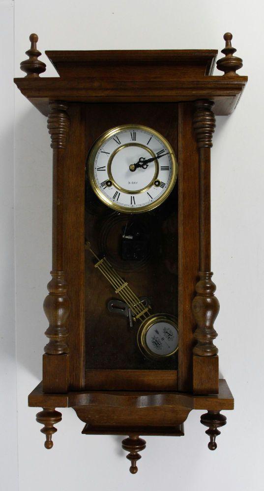 spiegel made in korea wooden 31 day pendulum wind up wall on wall clocks id=45775
