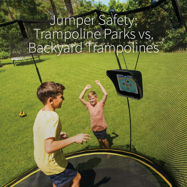 Trampoline parks are incredibly popular and springing up all over the place. But with so many people jumping at the same time are they really safer than a backyard trampoline? Read the post http://ow.ly/Wo9y303mjO4