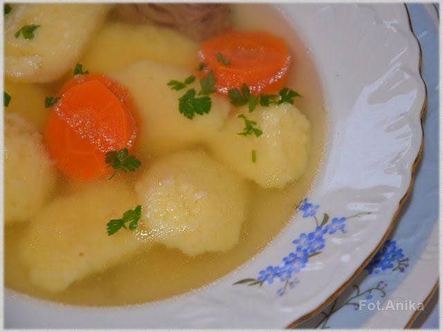Kluski francuskie do zup