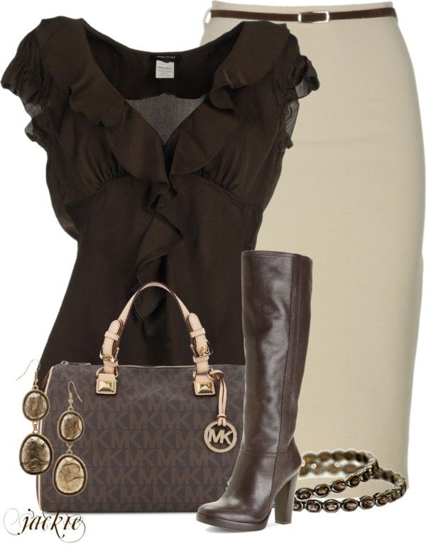 """Pencil Skirt"" by jackie22 ❤ liked on Polyvore"