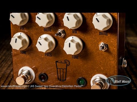 JHS Sweet Tea Overdrive/Distortion Pedal - YouTube