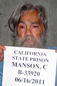 And Charles Manson is still crazy... (notice his new swastika tattoo on his forehead?)