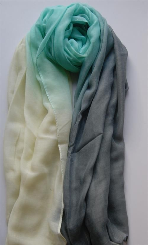 Big scarf 90 x 180 cm Viscose 3 colour