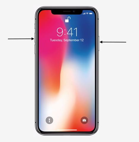 How to take a screenshot on your iPhone X