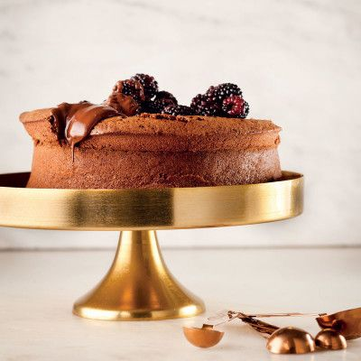 Taste Mag | Gluten-and wheat-free chocolate polenta cake @ http://taste.co.za/recipes/gluten-and-sugar-free-chocolate-polenta-cake/