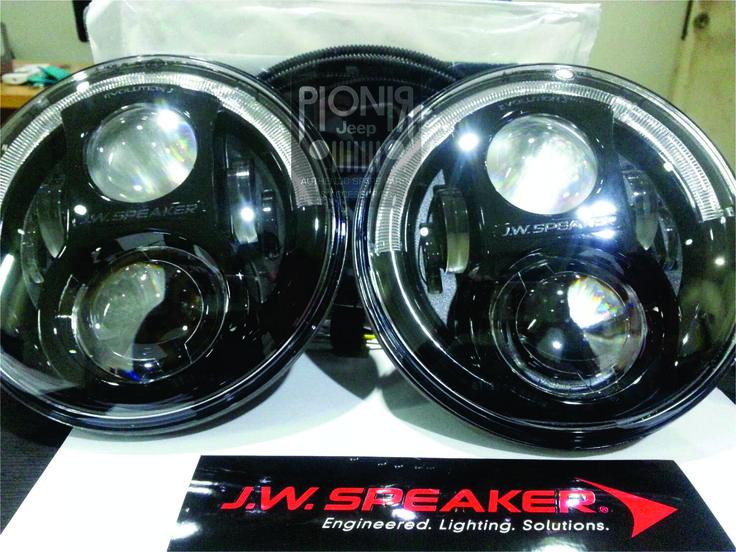 Head Lamp JW Speaker Jeep JK Wrangler