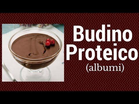 #8 Ricetta Budino Proteico (con albumi) sugar free - YouTube