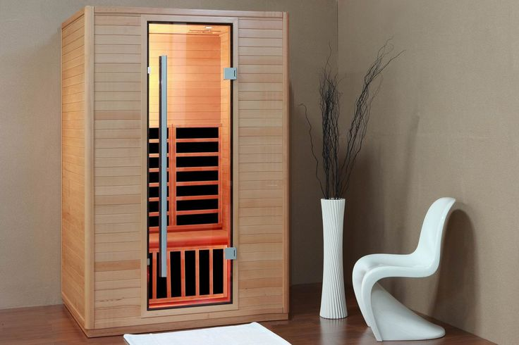 Classic Modest Sauna Room With White Chair Ideas For The