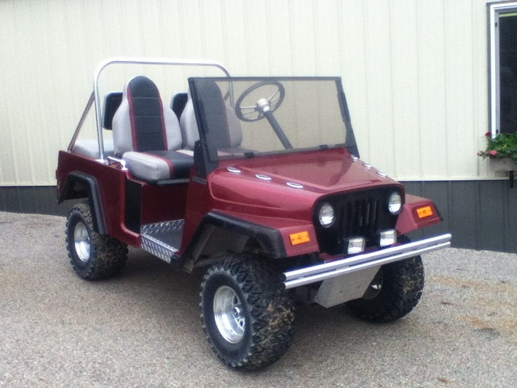 Jeep Golf Cart Body