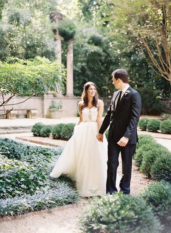 Oncewed: Romantic Blush Wedding Ideas  Photography: Ali Harper | Wedding Venue: Swan House | Wedding Reception: Atlanta History Center's Grand Overlook Ballroom | Videography: Timm Young Films | Calligraphy & Paper Goods: Chelsea Petaja | Florals: Amy Osaba Events |  Planner: Stella Harper Events | Gown: Cheryl Taylor | Groom's suit: J-Crew | Bridesmaid dresses: Kennedy Blue | Hair and Makeup: Claudia Mejerle | Band: Rhythm Nation | String Quartet: Piedmont Strings | Catering: Affairs to…