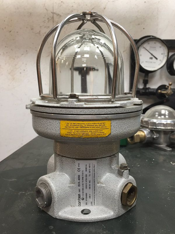 Reclaimed Lighting Converted To Desk Lamps Industrial