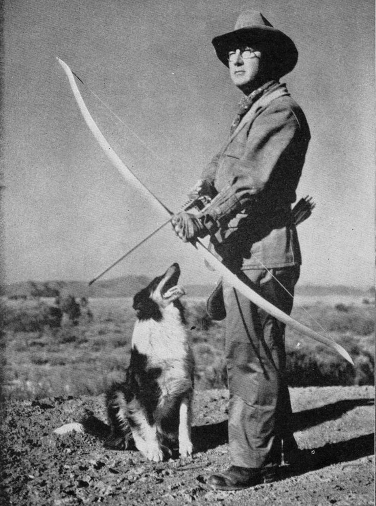 Besides being a successful mystery writer, Erle Stanley Gardner was an accomplished archer.