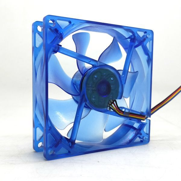 Us 7 99 92mm Pwm Led Cpu Cooler Cooling Fan 90mm 9cm 92x92x25mm Luminous 12v 1800rpm Blue Light Cooler In 2020 Cooling Fan Fan Cool Stuff