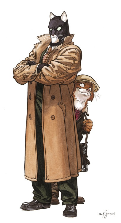 Blacksad by Juanjo Guarnido