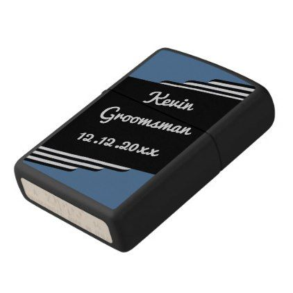 #Retro Be My Best Man or Groomsman Zippo Lighter - #GroomGifts #Groom #Gifts Groom Gifts #Wedding #Groomideas