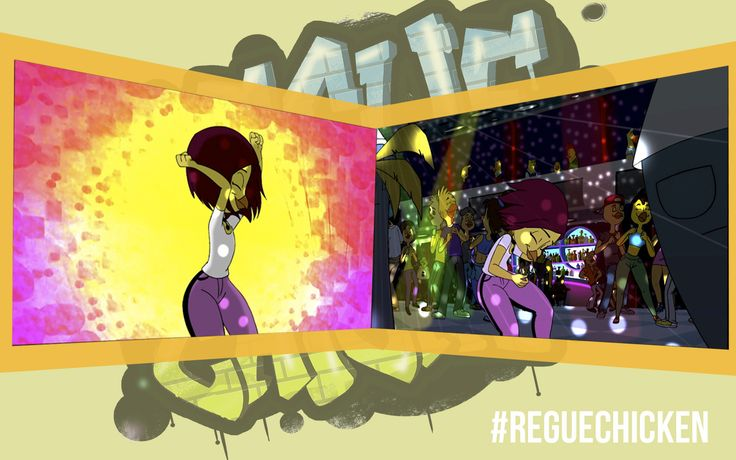 #RegueChicken #Reguetón #Baile #Flow