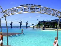 Great shot of the Cairns Lagoon! Love that salt-water pool, and its free!