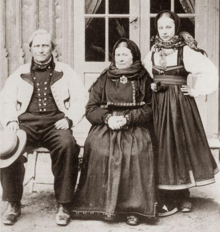 FolkCostume&Embroidery: Beltestakk and Gråtrøje, Costumes of East Telemark, Norway part 1