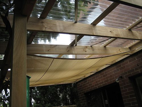 simple covered deck  inspiration