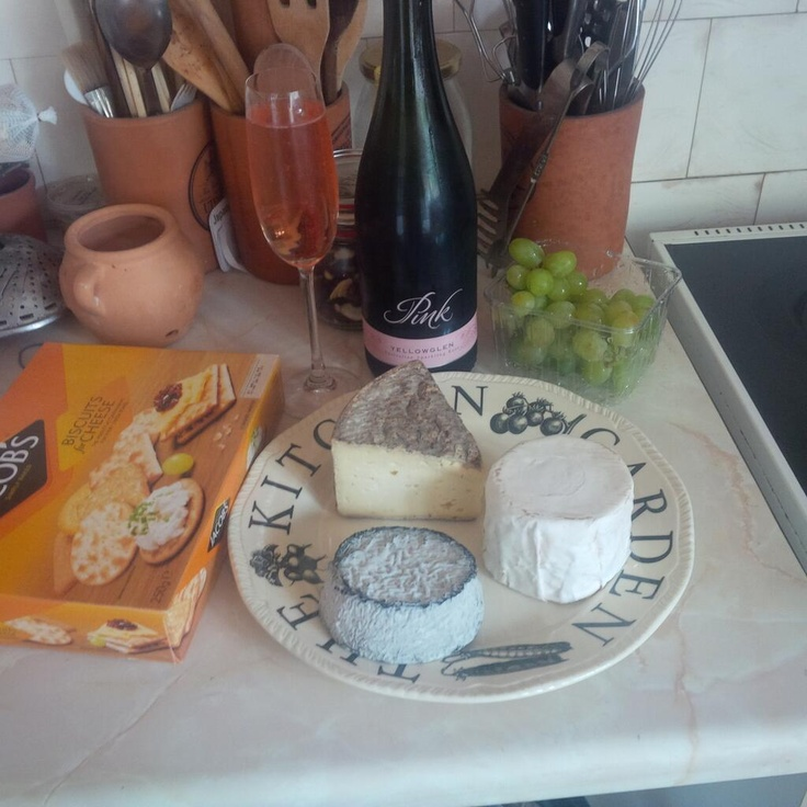 It may be raining outside so having a perfect indoor picnic lunch delivered by Ocado - delicious
