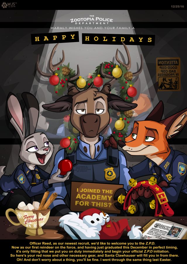Disney Christmas Zootopia