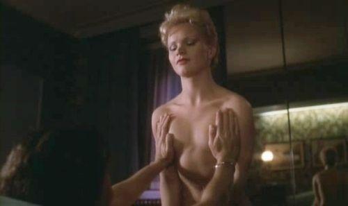 """Renée Soutendijk in """"De Vierde Man"""" (1983)."""