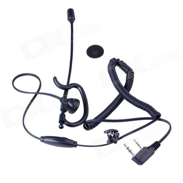 Baiston BST-K Professional Curve Tactical Walkie Talkie Headset w/ Extension Rod+ Interface of K. The professional Extension Rod design of this headset is especially made for walkie talkie which makes it more flexible and convenient to work .With this professional design, the work efficiency will be improved a lot. This earphone is applied to all the walkie talkie with the interface type of K (1x 3.5mm + 1 x 2.5mm ).. Tags: #Electrical #Tools #Walkie #Talkies #Supplies
