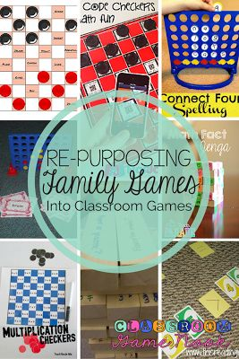 3 Ways to use UNOS, Checkers, Connect-4, and Jenga!  They make the best classroom games with just a few easy tweeks!