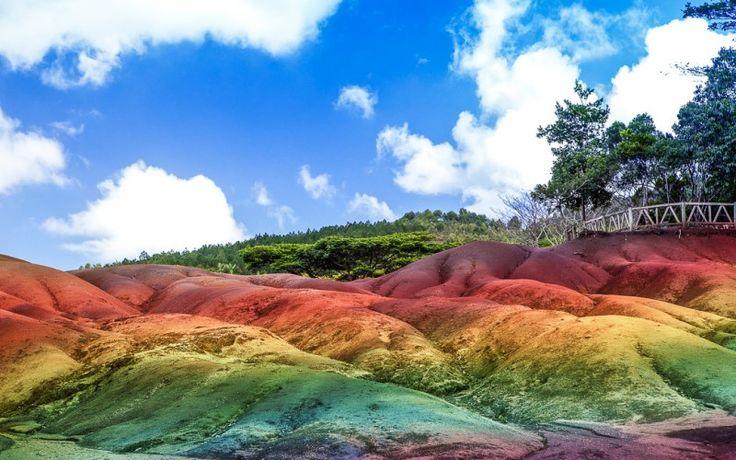 Die total faszinierende 7-Farben-Landschaft im Herzen von Mauritius