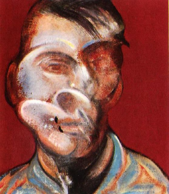 Study for Self-Portrait, Francis Bacon, 1973