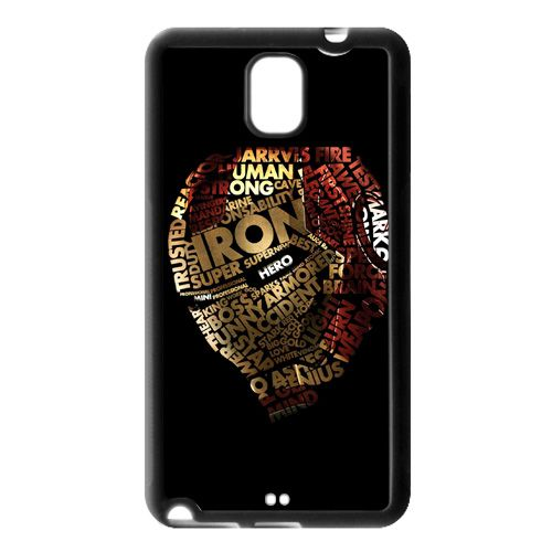 The Avengers Ironman Typograph Samsung Galaxy Note 3 Case Cover, $16.50