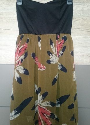 Kaufe meinen Artikel bei #Kleiderkreisel http://www.kleiderkreisel.de/damenmode/kurze-kleider/149470460-gemustertes-sommerkleid-von-tally-weijl
