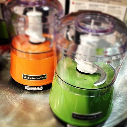 Green Kitchenaid Food Processor: Mini KitchenAid Food Processors