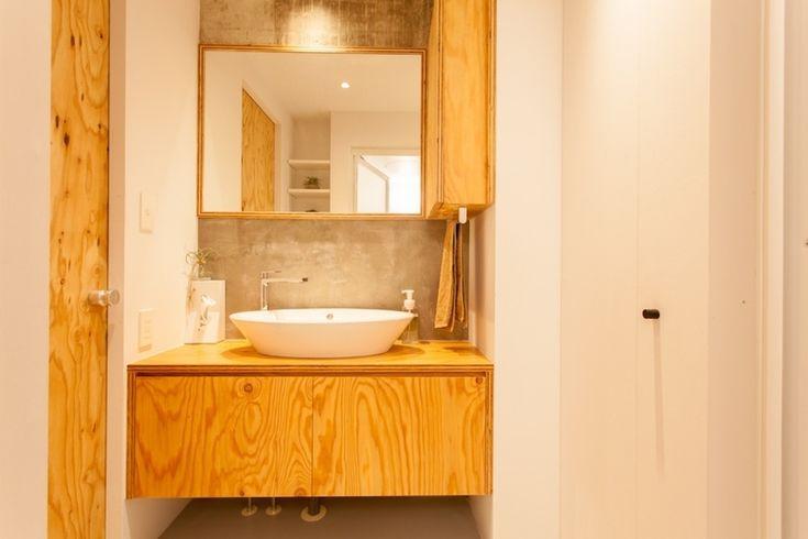 バス/トイレ事例:洗面所(新築選びは妥協の連続? リノベーションで 納得できる住まいづくり)