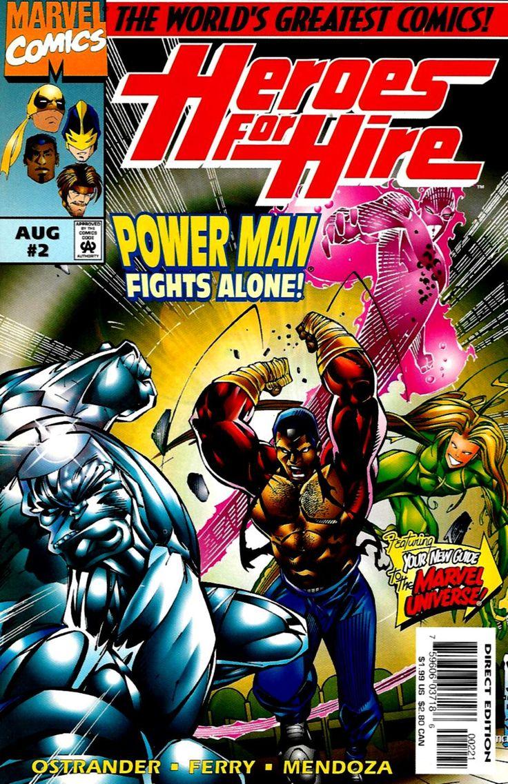 Luke Cage em Heróis de Aluguel #2