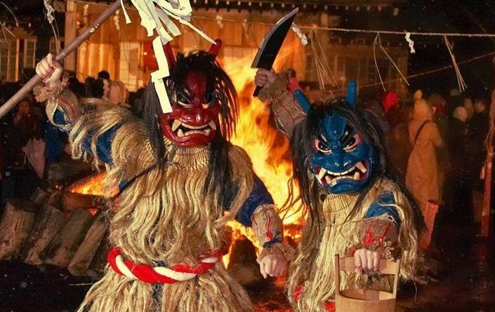 Namahage, los ogros de Año Nuevo de Akita y de otras zonas del norte de Japón