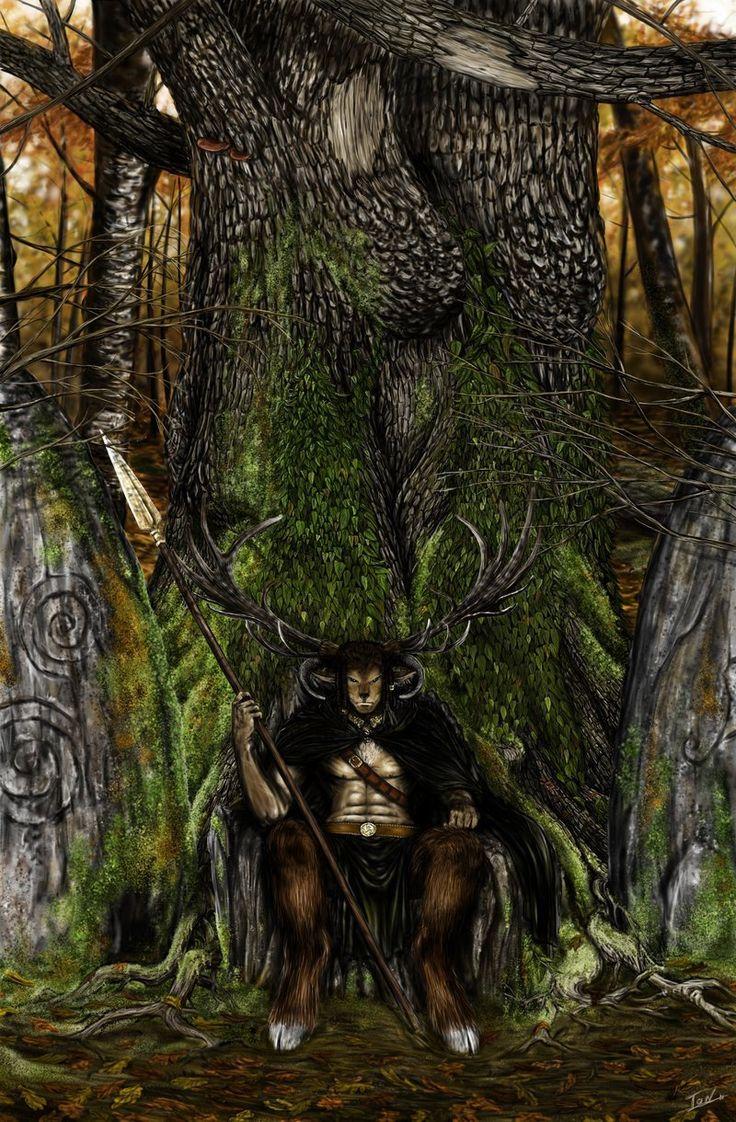 Cernunnos, the Hunter by Ionus on DeviantArt
