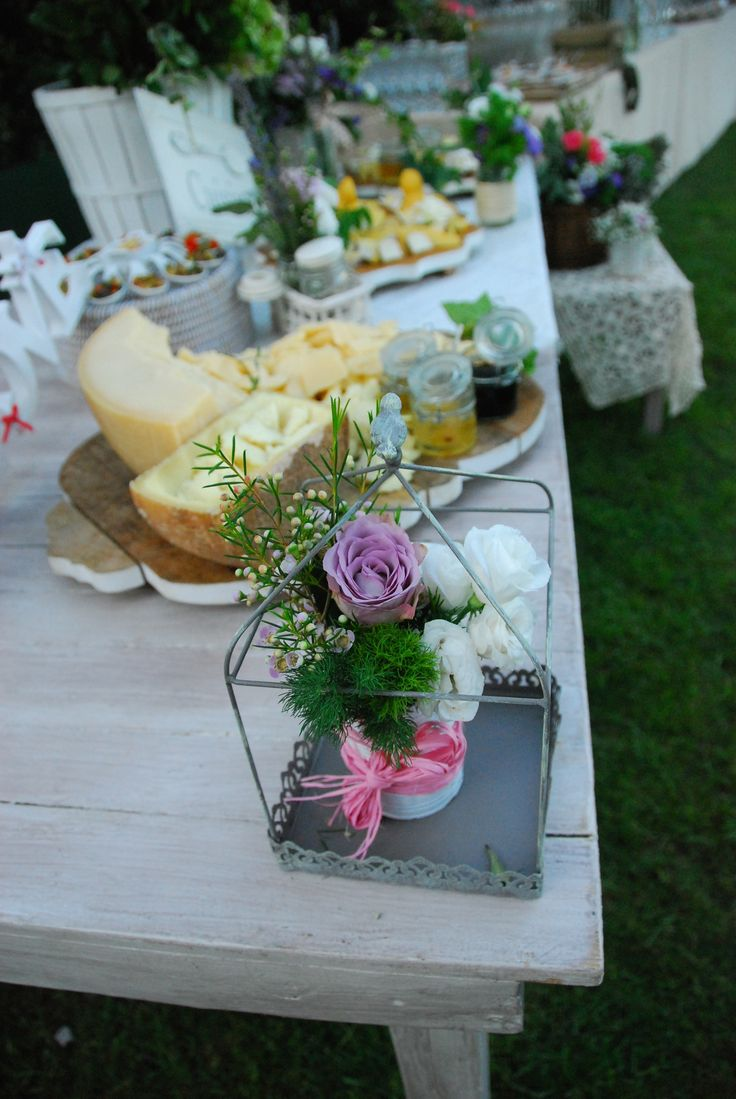 dettagli di buffet nuziali matrimonio Roma