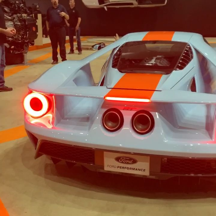 Ford GT exits 2018 #LAAutoShow  #Cars&….