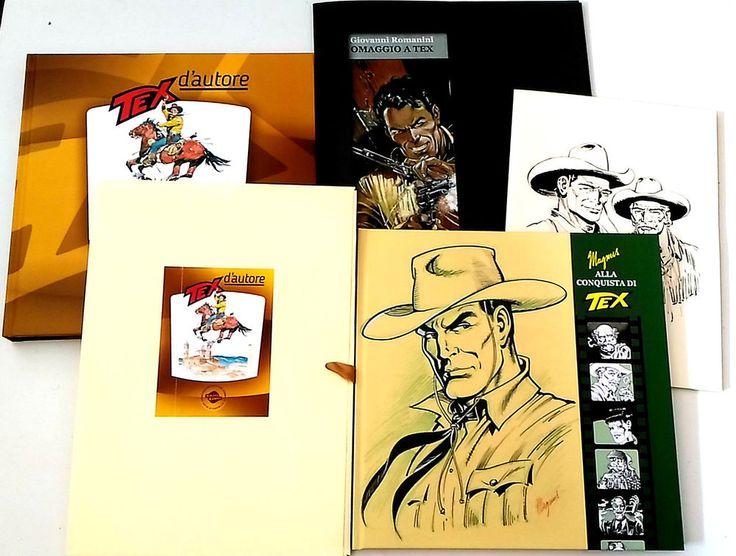 Magnus Alla Conquista di Tex - Tex d  Autore catalogo e 3 portfoli vari