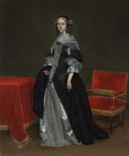 Portrait of a Woman, c. 1665 Gerard Terborch II (Dutch, 1617-1681) oil on canvas 1944.93