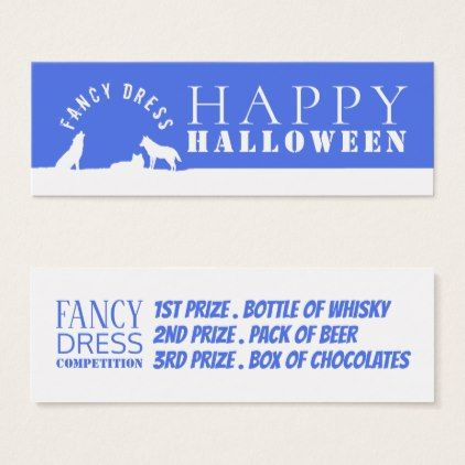 Wolves in Snow Fancy Dress Competition Tickets - Halloween happyhalloween festival party holiday