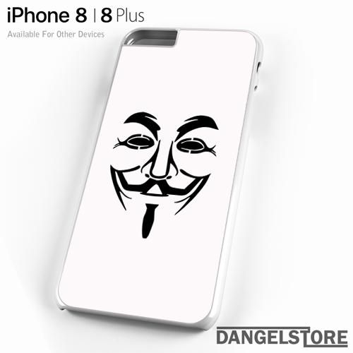 anonymous mask For iPhone 8 | 8 Plus Case