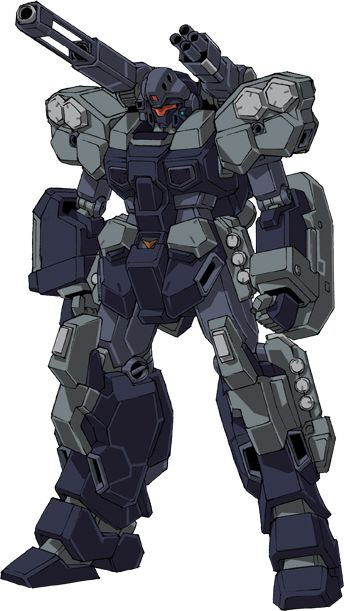 The RGM-96X Jesta Cannon is an Earth Federation Mobile suit from the Novel and OVA Mobile Suit Gundam Unicorn, used by the Londo Bell task force.