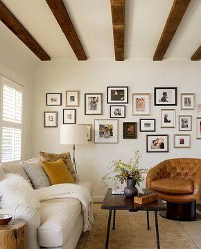 Потолочные балки - 70 примеров с фото - Интерьер - Копилка больших идей