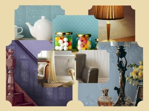 Prägetapeten Beautiful wallpapers, wunderschöne Tapeten