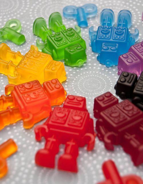 Gummi robots