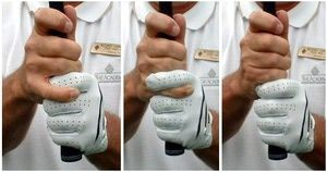 Here are the three most common types of golf grips, the best ways to hold the golf club during the swing.