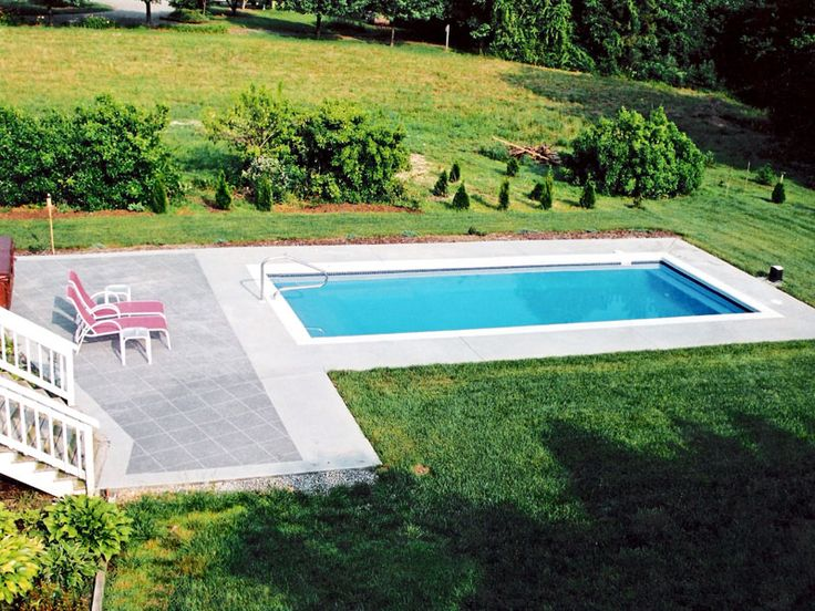 Rectangle Pools   Trilogy Fiberglass Swimming Pool Products